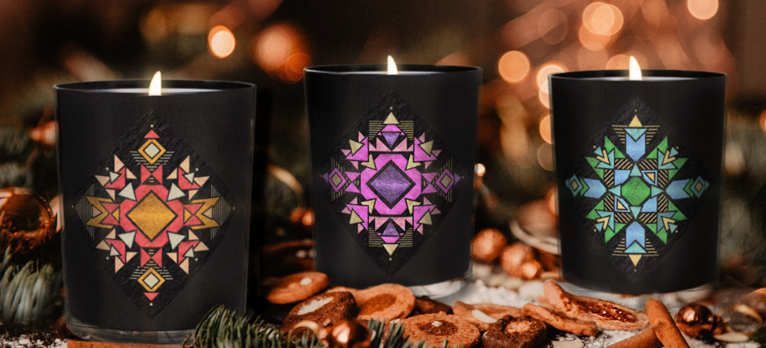 Limited Edition Christmas Candles