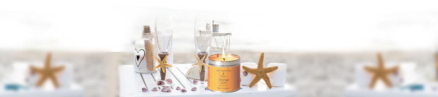 Scented Candle in Tins