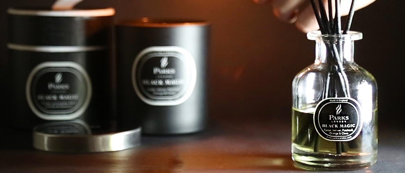 Black Magic Candles & Diffusers
