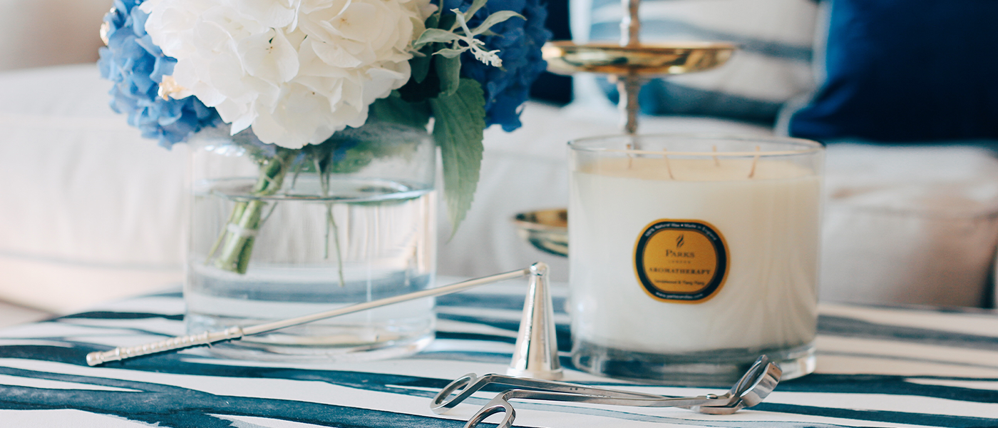 Vintage Aromatherapy Candles & Diffusers
