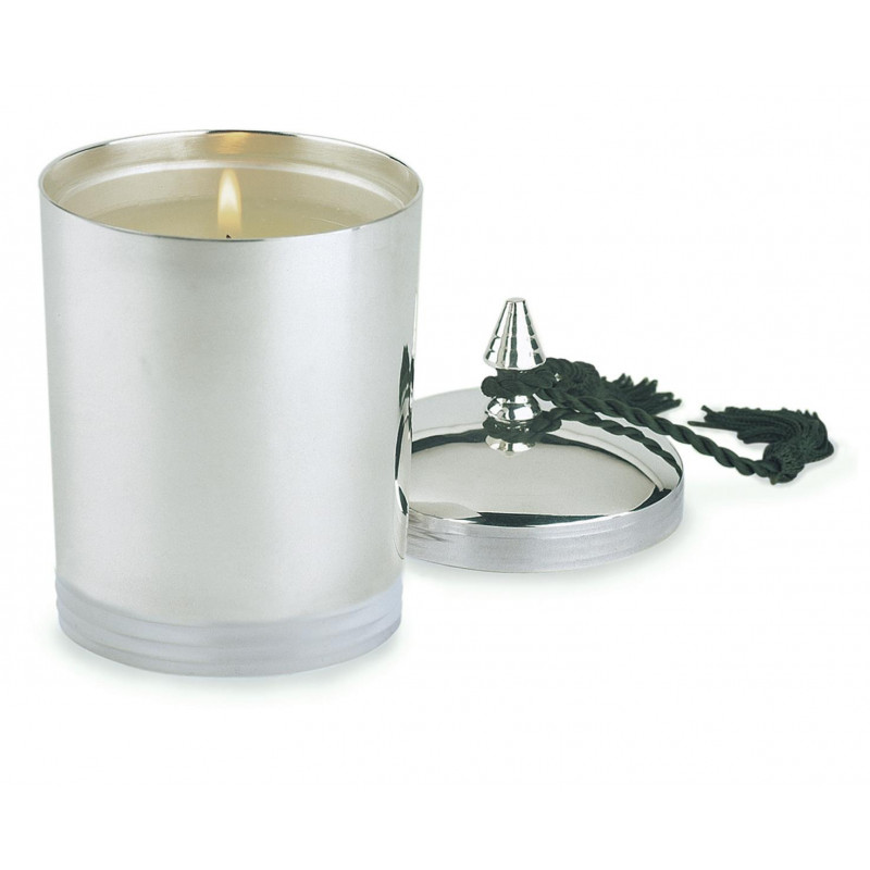 Large Ringed Candle