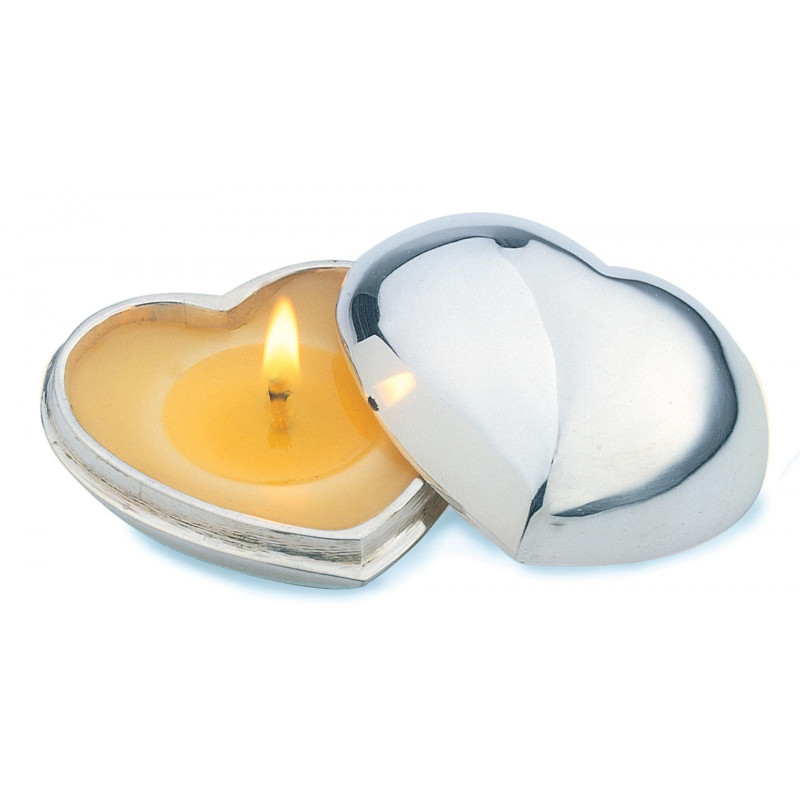 Miniature Heart Candle