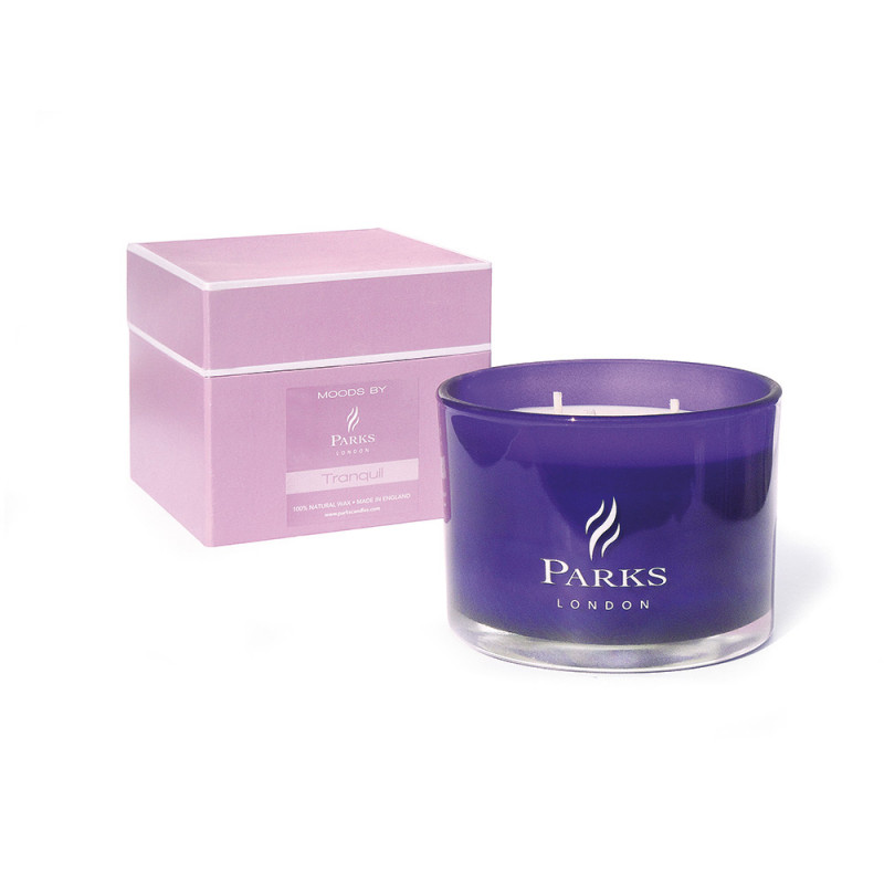 Purple 3 Wick Candle