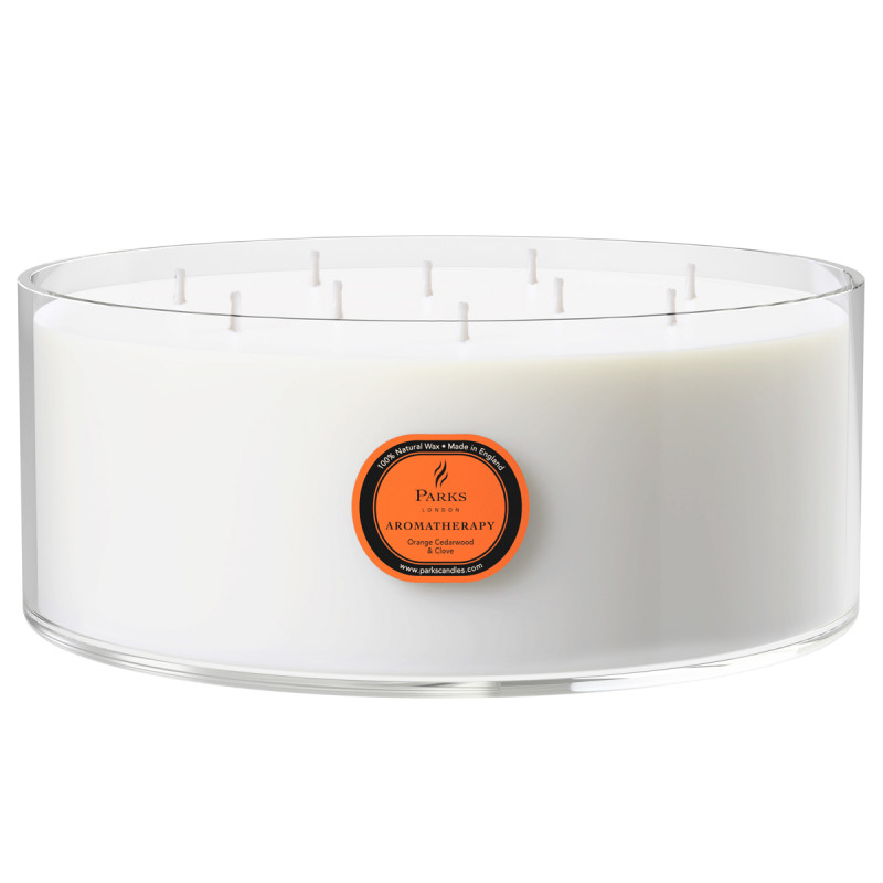 Orange, Cedarwood & Clove 10 Wick Candle