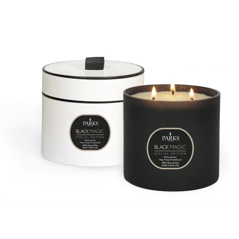 White Jasmine, Ylang Ylang & Sandalwood 3 Wick Candle Special Edition