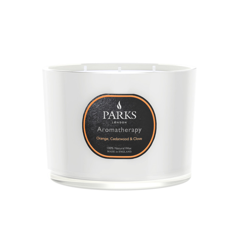 Orange, Cedarwood & Clove Scented Candle