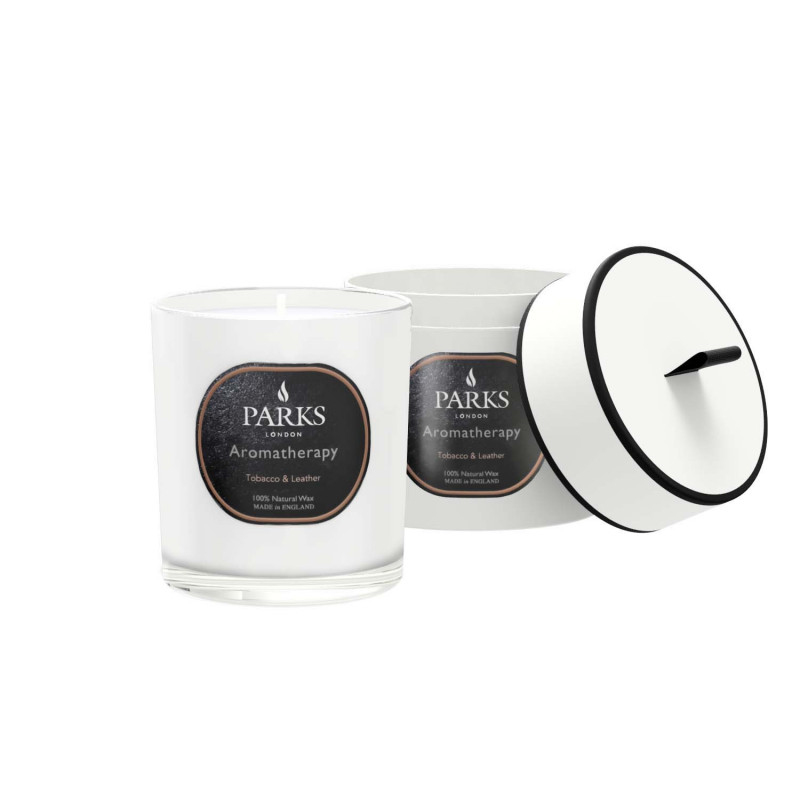 Tobacco & Leather Candle