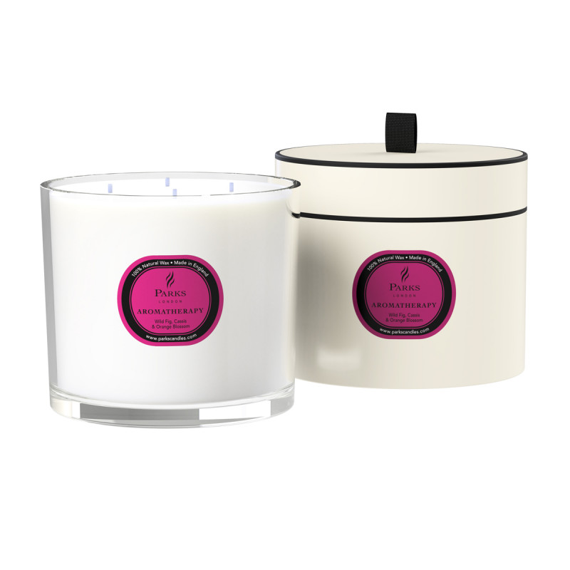 Wild Fig, Cassis & Orange Blossom 4 Wick Candle