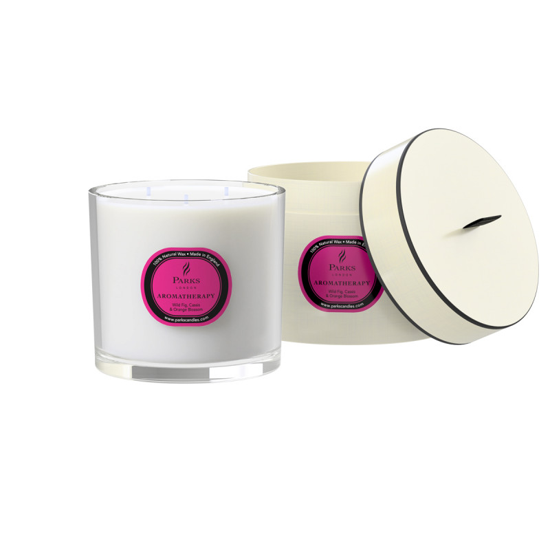 Wild Fig, Cassis & Orange Blossom 3 Wick Candle 650g