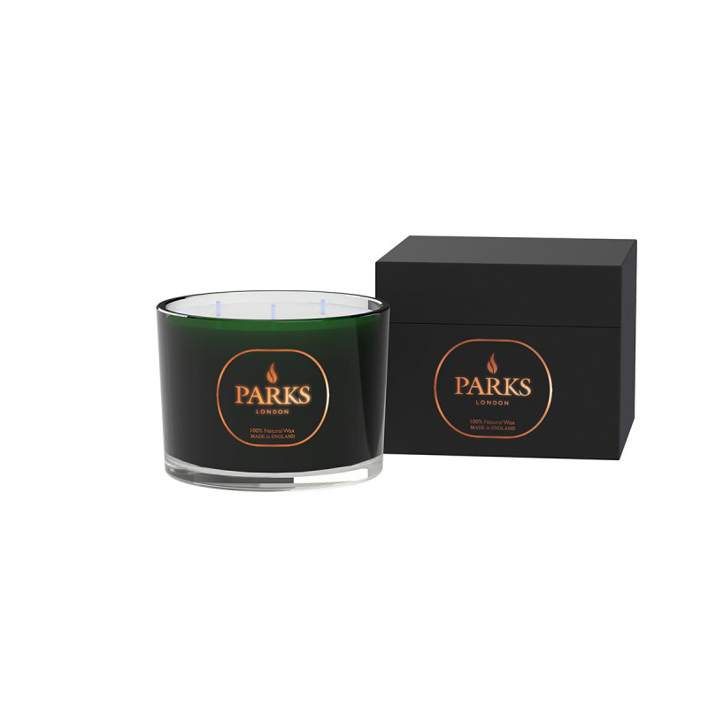 Special Edition 3 Wick Candle Green