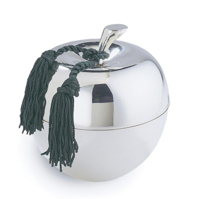 Large Apple Candle