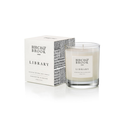 Birch & Brook Library 1 Wick Candle