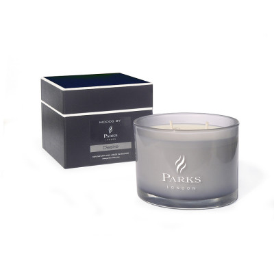 Black 3 Wick Candle