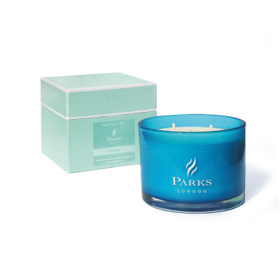 Turquoise 3 Wick Candle