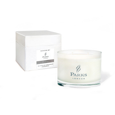 White 3 Wick Candle