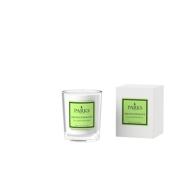 Lime, Basil & Mandarin Votive Candle