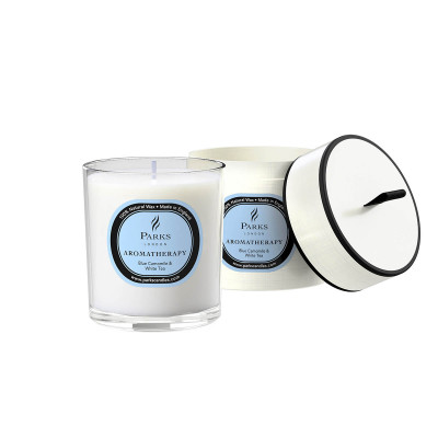 Blue Camomile & White Tea Candle