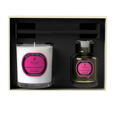 Wild Fig, Cassis & Orange Blossom Candle & Diffuser Set