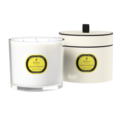 Grapefruit & Jasmine 4 Wick Candle
