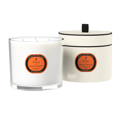 Orange, Cedarwood & Clove 4 Wick Candle