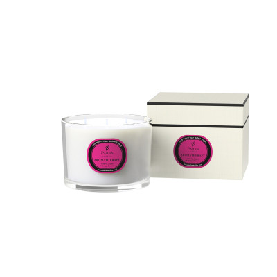 WILD FIG, CASSIS & ORANGE BLOSSOM 3 Wick Candle