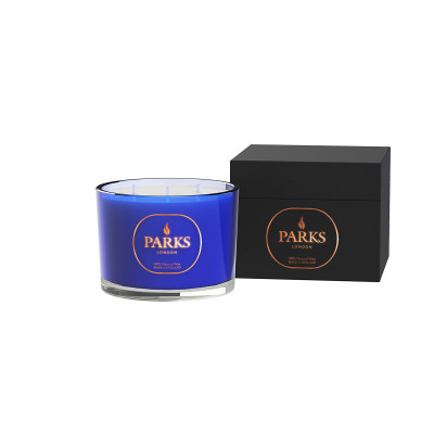Special Edition 3 Wick Candle Blue