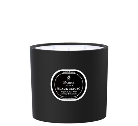 Bergamot, Rose & Patchouli 3 Wick Candle