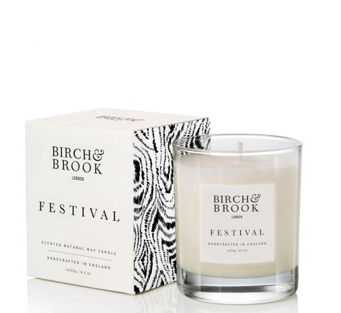 Birch & Brook Festival 1 Wick Candle