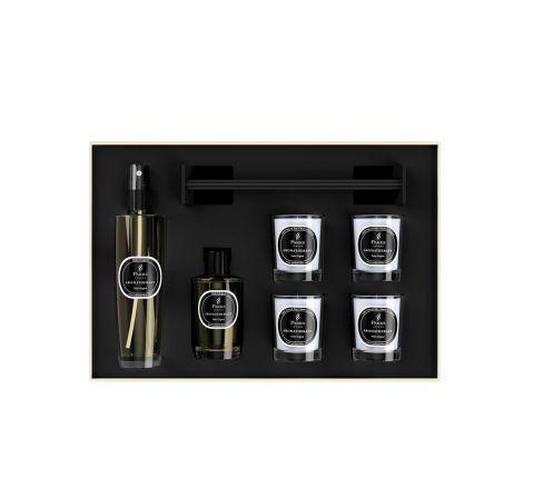 Luxury Gift Set Parks Original 4 Votive Candles, Diffuser & Room Spray