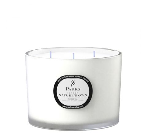 Nordic Spa 3 Wick Candle
