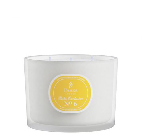 No6 Lime & Citrus 3 Wick Candle