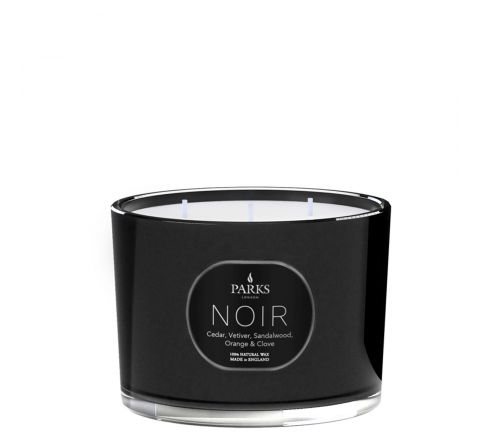 Cedar, Vetiver, Sandalwood, Orange & Clove 3 Wick Candle
