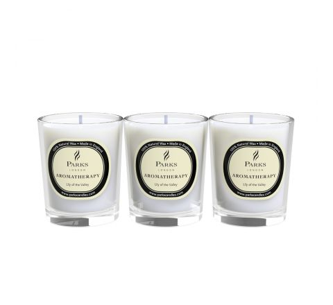 Lily of the Valley 3 Votive Gift Set