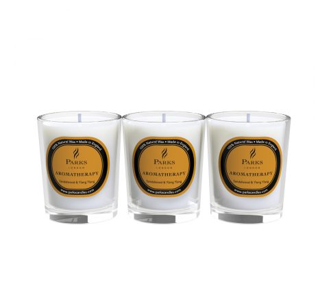 Sandalwood & Ylang Ylang 3 Votive Gift Set