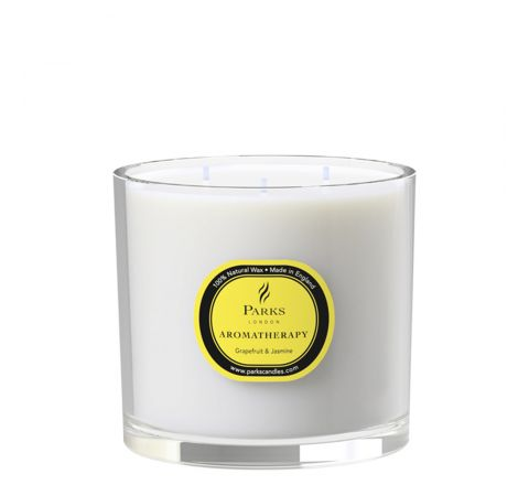 Grapefruit & Jasmine 3 Wick Candle