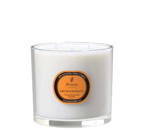 Orange, Cedarwood & Clove 3 Wick Candle
