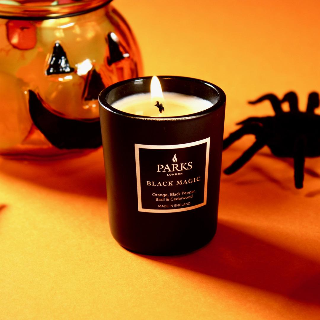 Black Magic: The Perfect Candles For Halloween