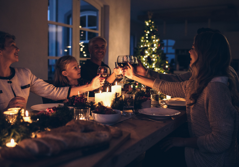 Ways to celebrate winter solstice - Family feast