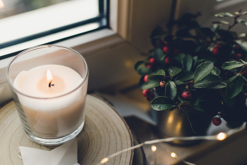 Ways to celebrate winter solstice - winter candles