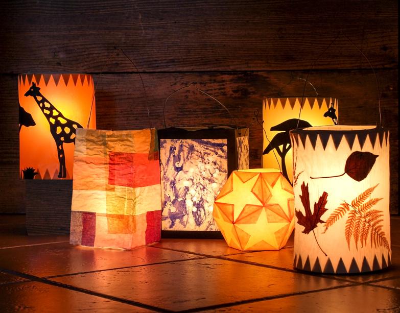 Ways to celebrate winter solstice - lanterns