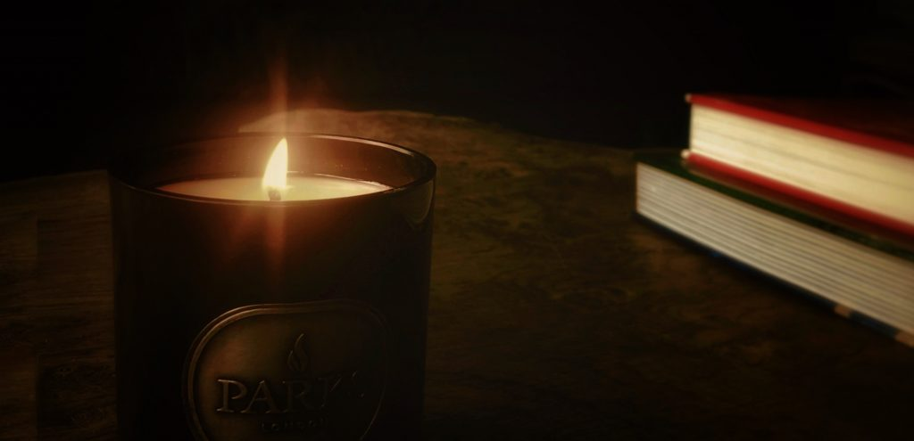 100% Natural wax candle. Cosy up for autumn with your favourite book